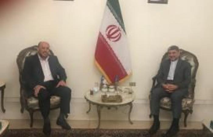 فلسطين | وفد من حماس يلتقي السفير الإيراني بلبنان