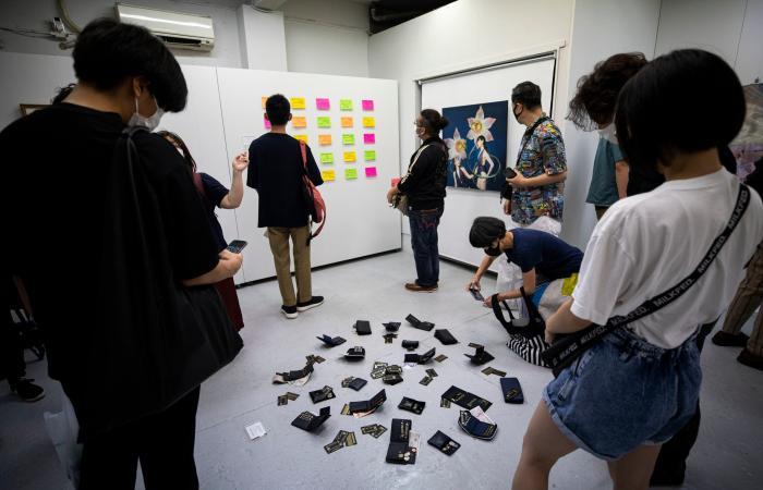"""معرض فني في طوكيو ... يجيز """"سرقة"""" الأعمال"""