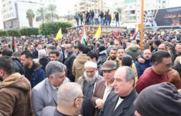 فلسطين | غزة: وقفة شعبية رفضا لخطة الضم ومخططات تصفية القضية الفلسطينية