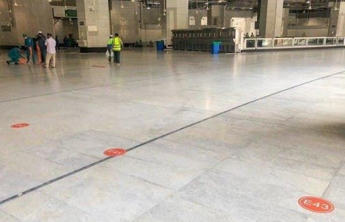 السعودية   مسارات مخصصة في المسجد الحرام لكل فوج من الحجاج