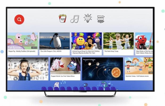 يوتيوب كيدز تقدم 100 فيلم للأطفال مجانًا