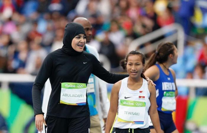 السعودية   بالصور.. عداءة سعودية حققت بطولات في التجديف