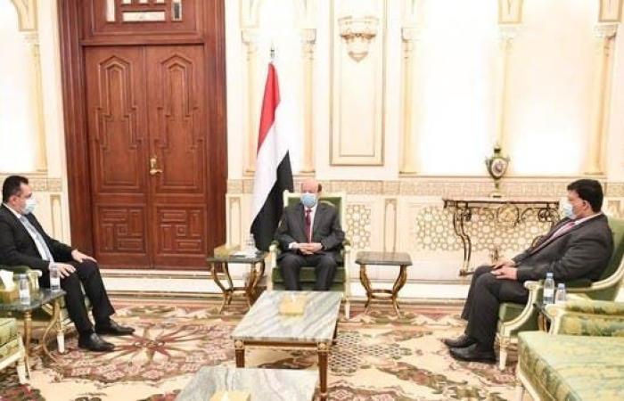 اليمن | هادي: تسريع تنفيذ اتفاق الرياض يسهم بتوحيد الصف اليمني