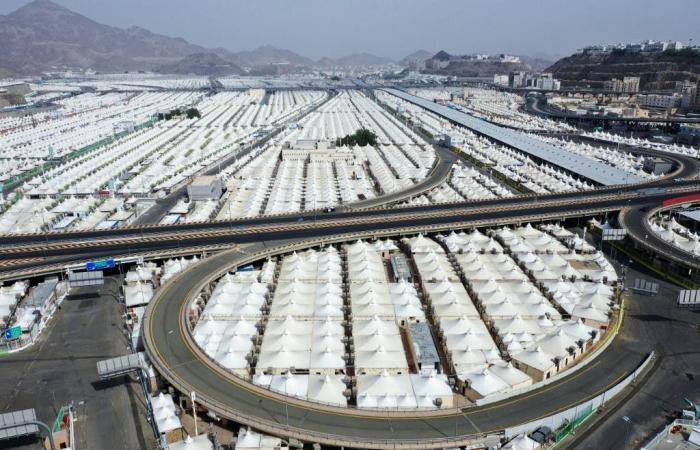 السعودية   بالصور.. بروتوكولات استثنائية في حج هذا العام