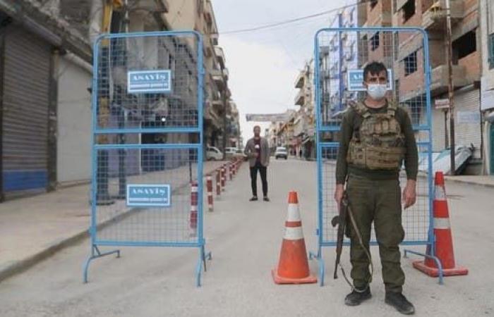 سوريا   كورونا يشل الحركة شمال سوريا.. الأكراد يفرضون حظراً