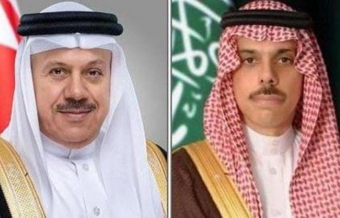 الخليج   وزيرا الخارجية السعودي والبحريني يؤكدان أهمية وقف النار في ليبيا