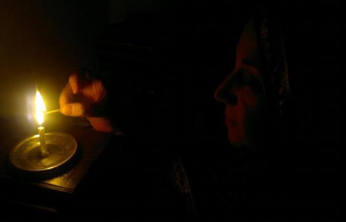 اعتصام في عاليه احتجاجًا على انقطاع الكهرباء
