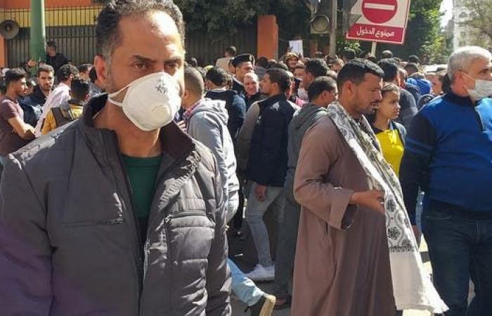 مصر   مصر تسجل 409 إصابات جديدة بكورونا و37 وفاة