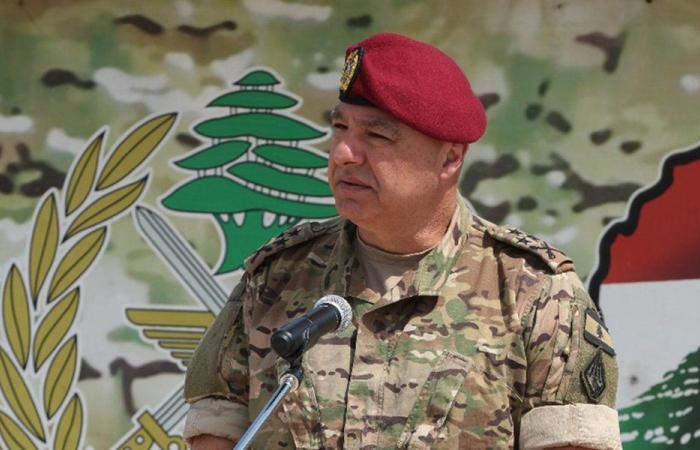 قائد الجيش: الوضع المعيشي لن يؤثر في معنوياتنا