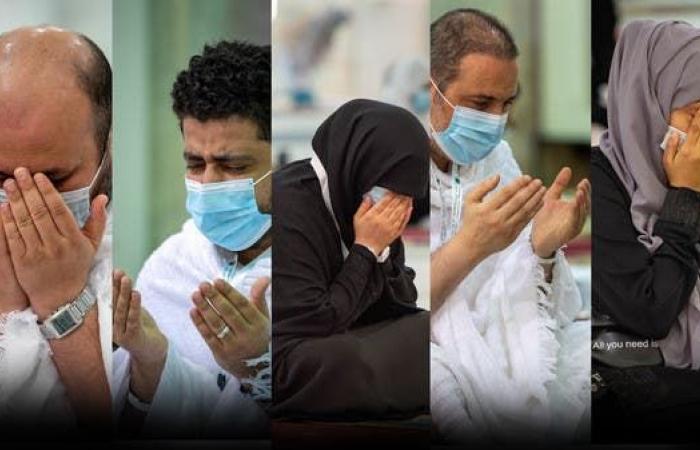 السعودية | أيادي التضرع والدعاء تتصدر مشهد وقفة عرفات
