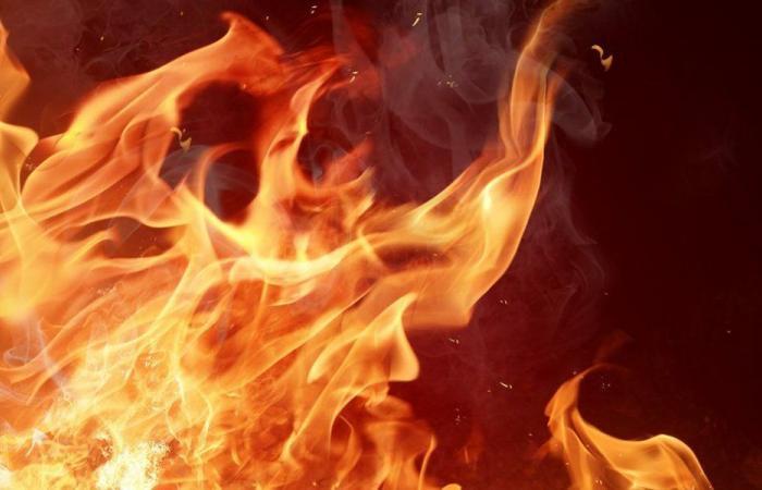 حريق قرب موقع الجيش في ضهر الليسينة عكار