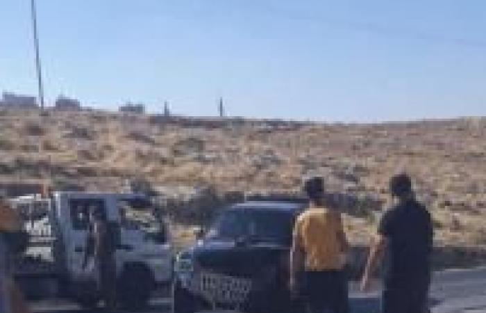 فلسطين | اصابة مواطنين خلال حادث سير شرق بيت لحم