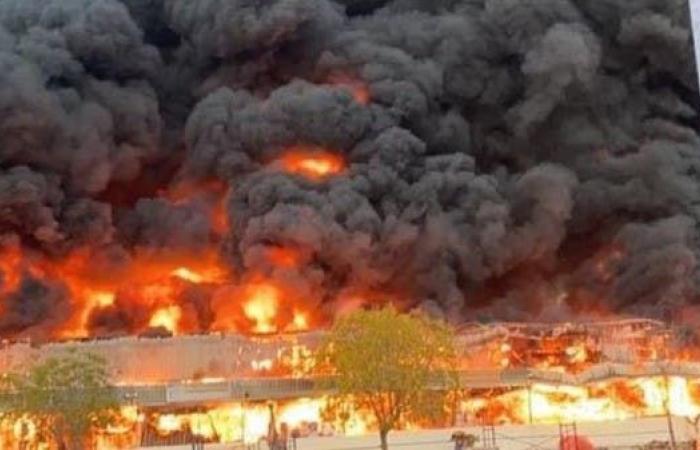الخليج | الإمارات تسيطر على حريق ضخم في عجمان.. ولا إصابات