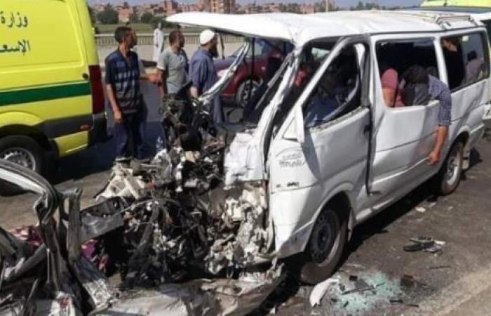 مصر | مصر.. 16 قتيلاً وجريحاً بحادث تصادم بالقليوبية