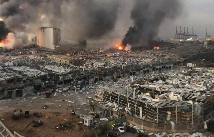 انفجار بيروت… عدد الضحايا يرتفع الى 171 والمفقودون بين 30 و40
