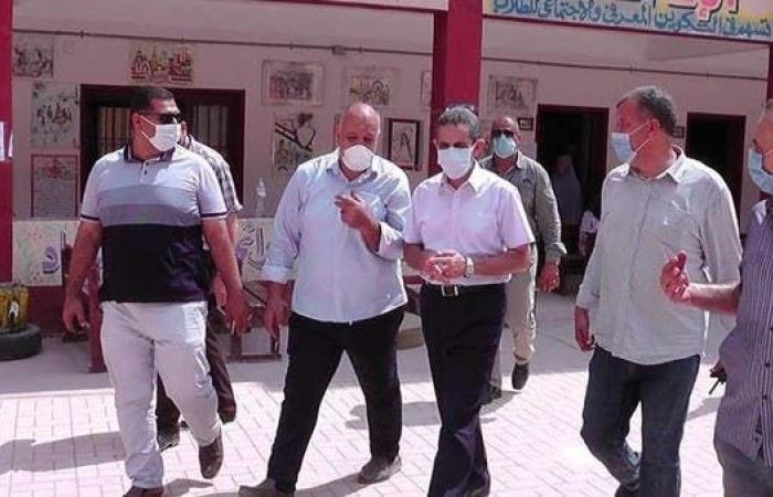 مصر   بالصور.. انطلاق التصويت في مجلس الشيوخ المصري