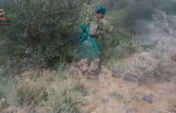اليمن   شاهد.. الجيش اليمني يحرر مواقع جديدة شرق صنعاء