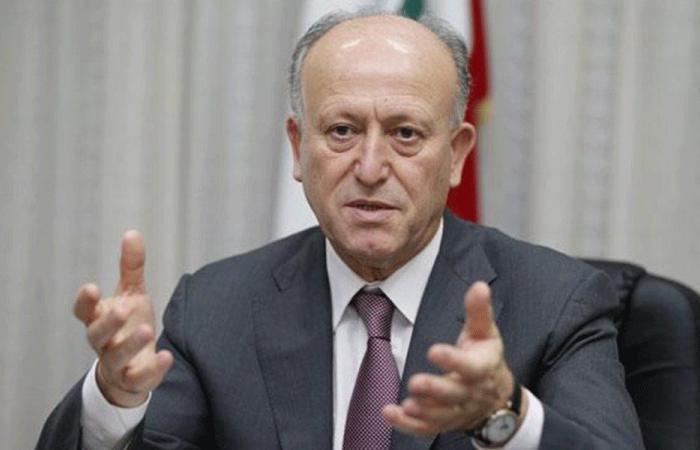 ريفي لظريف: إرفعوا أيديكم عن لبنان