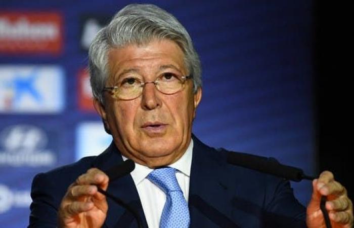 رئيس أتلتيكو ينصح الجماهير بشراء ناد خاص بعد الانتقادات