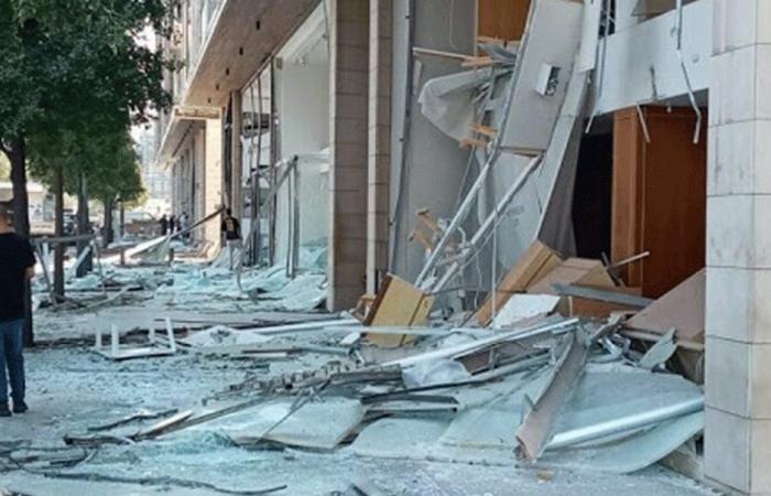 بيروت من دون زجاج… والدولة غائبة!