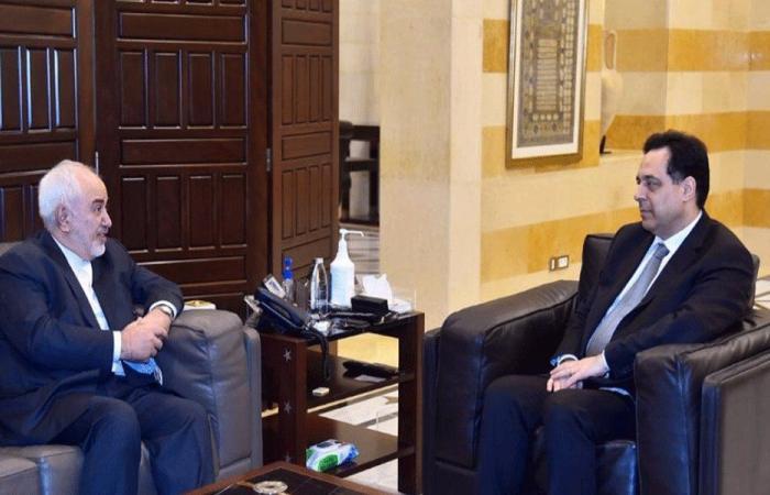 طبيعة المساعدات الايرانية لدعم لبنان بين دياب وظريف
