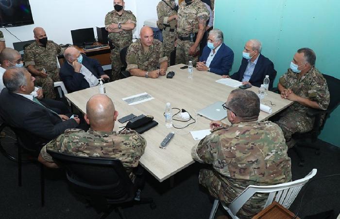 قائد الجيش: المرحلة تحتاج إلى تضافر جهود اللبنانيين وتكاتفهم