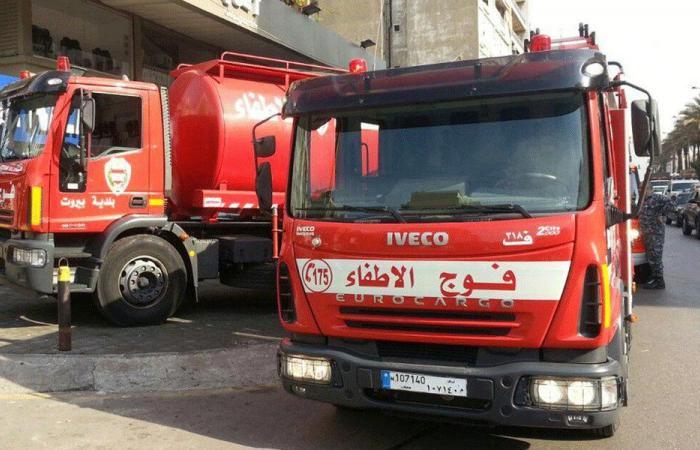 تثبيت عناصر إطفاء بيروت بعد استشهادهم