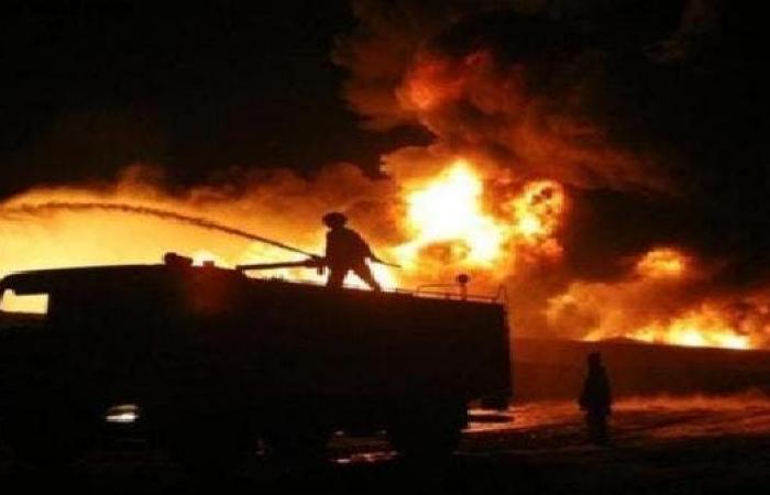إيران   إصابة 4 في انفجار وحريق في طهران