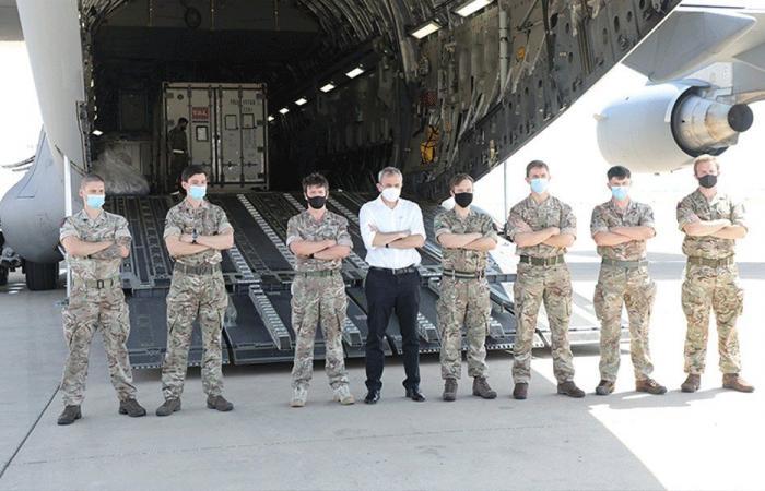 استمرار وصول المساعدات من الدول إلى بيروت