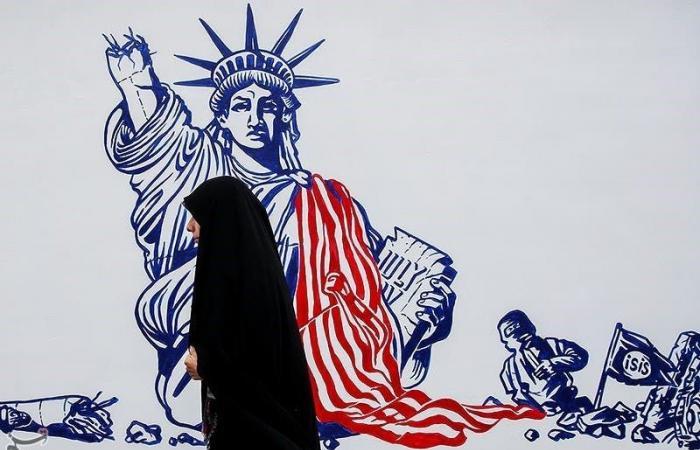 """إيران   صور.. باسيجإيران يستخدم محيط سفارة أميركا كـ""""حسينية"""""""