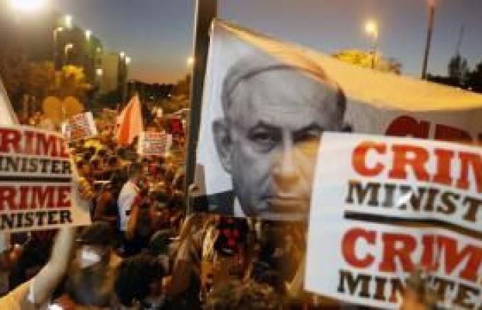 فلسطين | العليا الإسرائيلية ترفض التماسًا لمنع التظاهرات أمام منزل نتنياهو