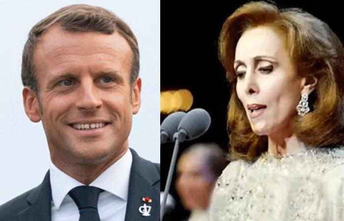 وسام جوقة الشرف الفرنسي من ماكرون إلى فيروز