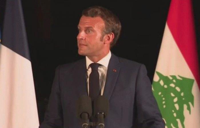 ماكرون يوبّخ صحافيًا فرنسيًا بسبب مقاله عن لبنان (فيديو)