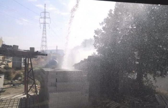 اندلاع حريقين في القبيات بسبب ارتفاع الحرارة