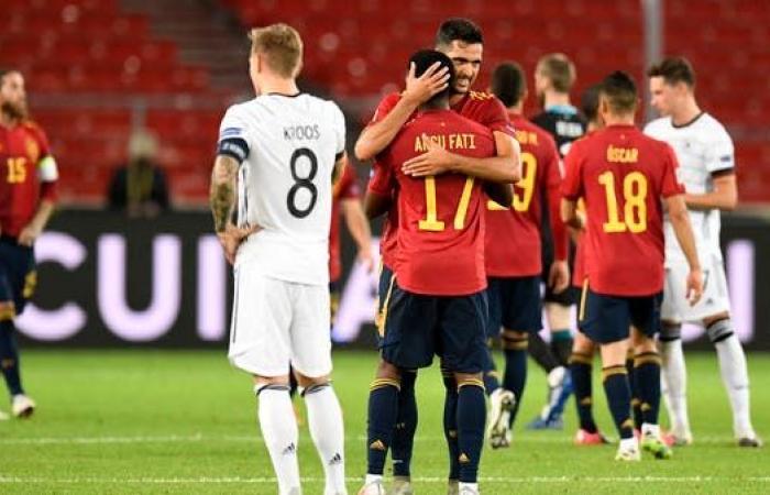 إسبانيا تخطف التعادل من ألمانيا في الوقت القاتل
