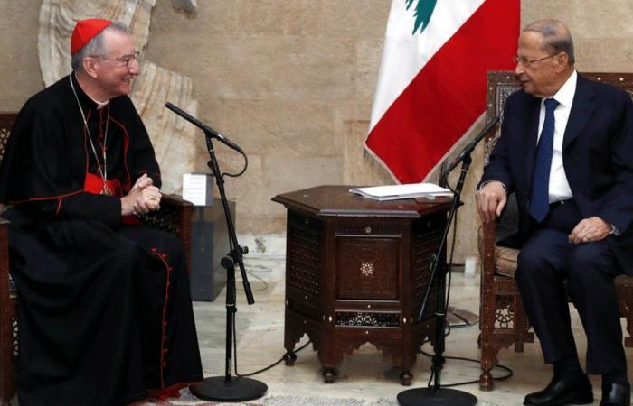 الكاردينال بارولين لعون: هناك دعم دولي لاعادة اعمار بيروت