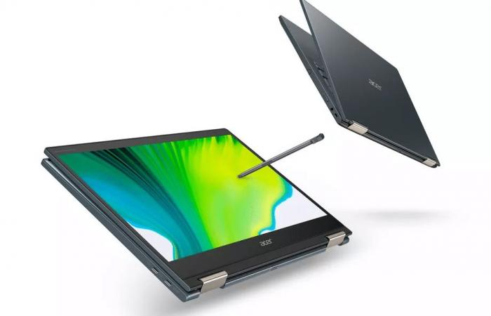 أيسر تعلن عن أول حاسوب مع معالج Snapdragon 8cx Gen 2 5G