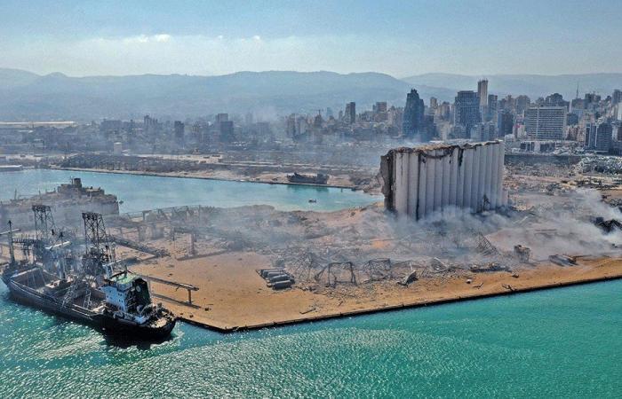 التقرير الاسبوعي لرئاسة مجلس الوزراء بشأن الانفجار الكارثي