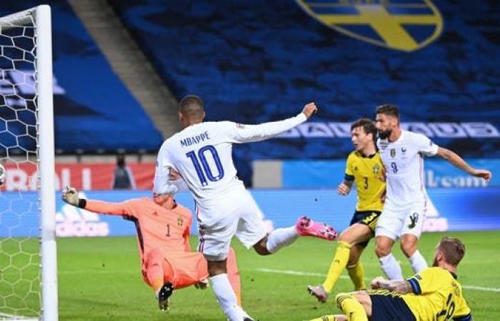 فرنسا تتجاوز السويد في دوري الأمم