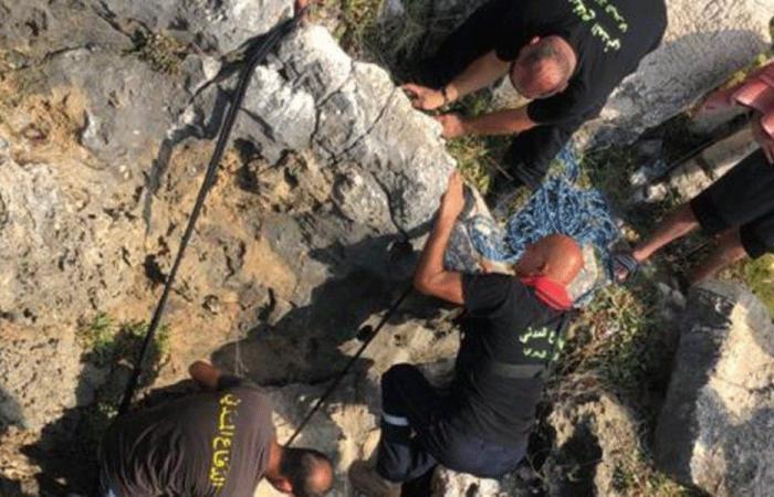 إنقاذ 3 شبان من الغرق في بحر عمشيت