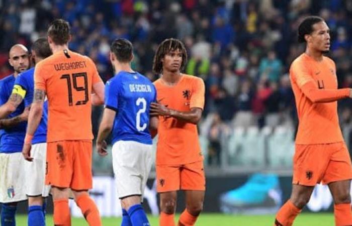 """إيطاليا """"تحت الضغط"""" قبل مواجهة مضيفتها هولندا"""