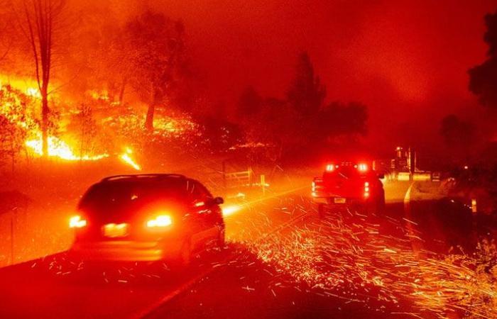 مساحة حرائق كاليفورنيا غير مسبوقة منذ 33 عاما
