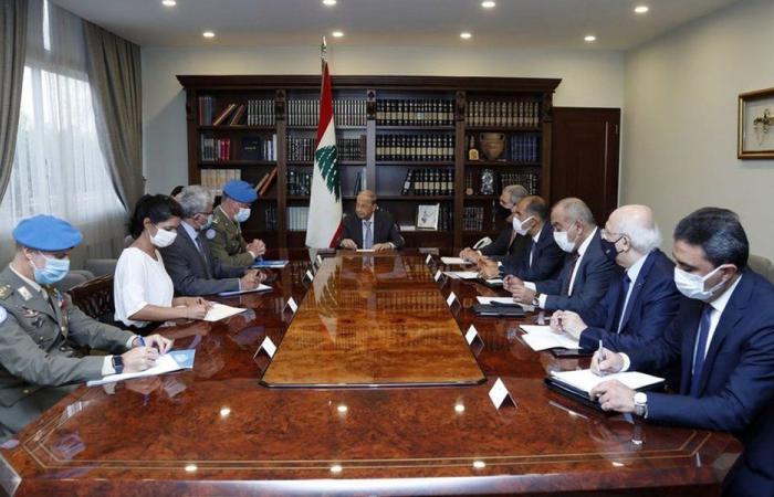 عون: التجديد لليونيفيل ليس لمصلحة لبنان فحسب