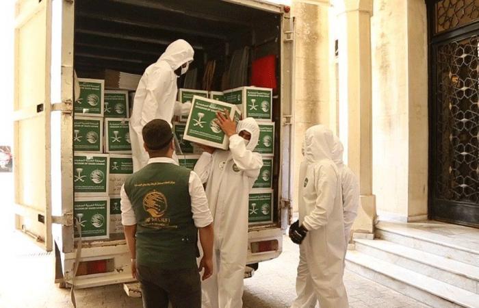 مساعدات من مركز الملك سلمان إلى العائلات المحتاجة في صيدا