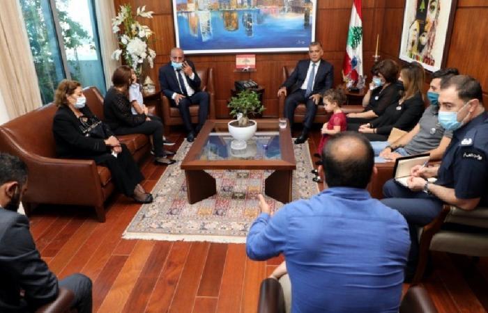 ابراهيم التقى وفدًا من عائلات ضحايا الأمن العام في انفجار المرفأ