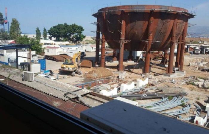 خزانات ضخمة للغاز السائل تهدّد برج حمود وسكانها