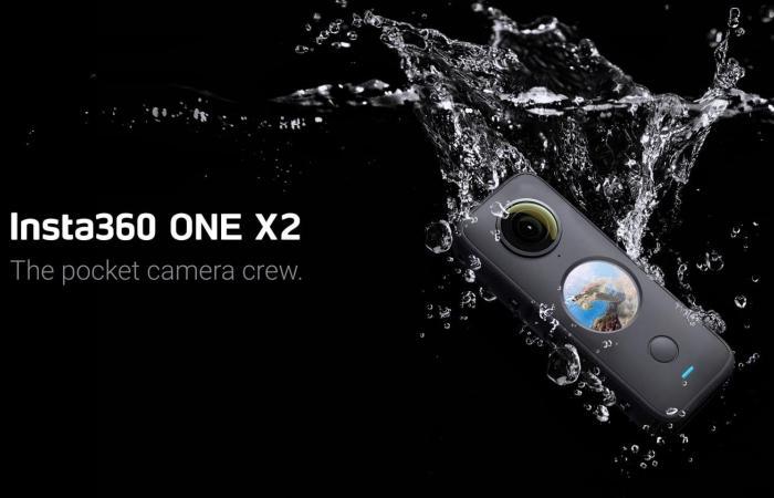 Insta360 One X2 تحصل على شاشة تعمل باللمس