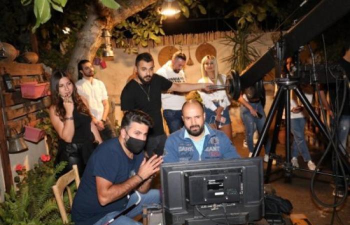 المخرج اللبناني محمد شموري يبدأ بتصور إعلان خاص لشركة الإتصالات زين