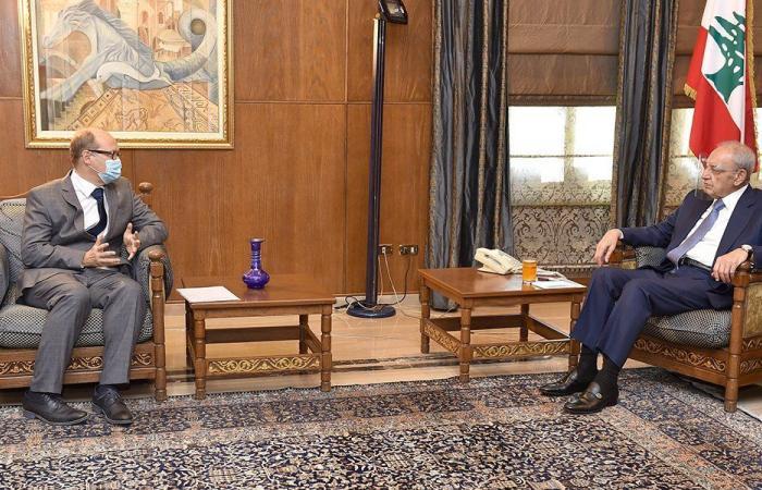 """بري التقى سفير النمسا والمدير العام لـ""""الاقتصاد"""""""