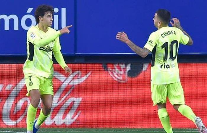 فيلكس يقود أتلتيكو مدريد لفوزه الثالث على التوالي